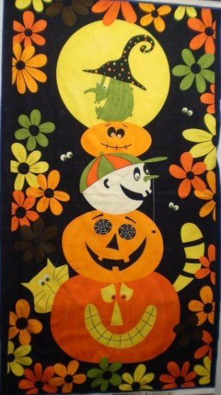 Pumpkins Gone Wild (Panel) 17387-11