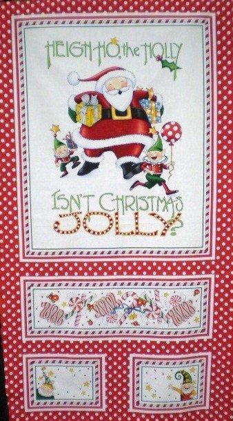 Isn't Christmas Jolly (Panel) 18010-12