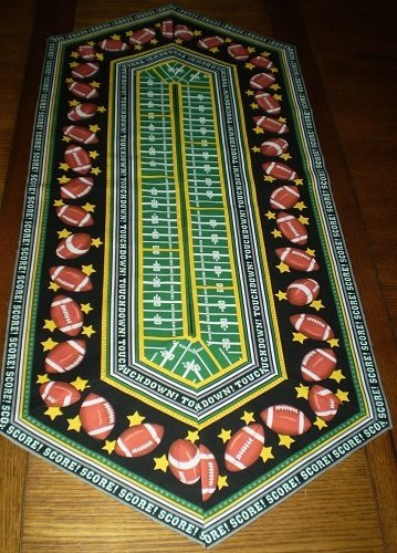 Easy Striped Table Runner Kit - Football