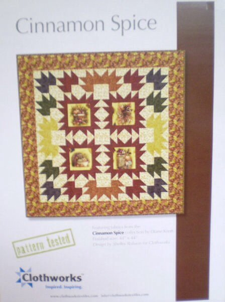 Cinnamon Spice Quilt Kit