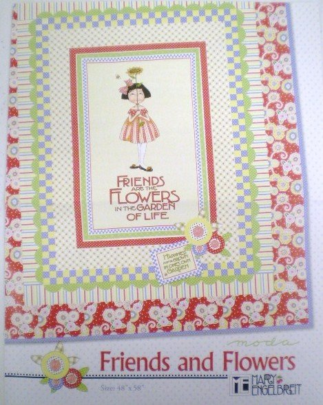 Friends and Flowers Quilt Kit
