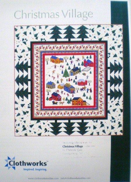 Christmas Village Quilt Kit