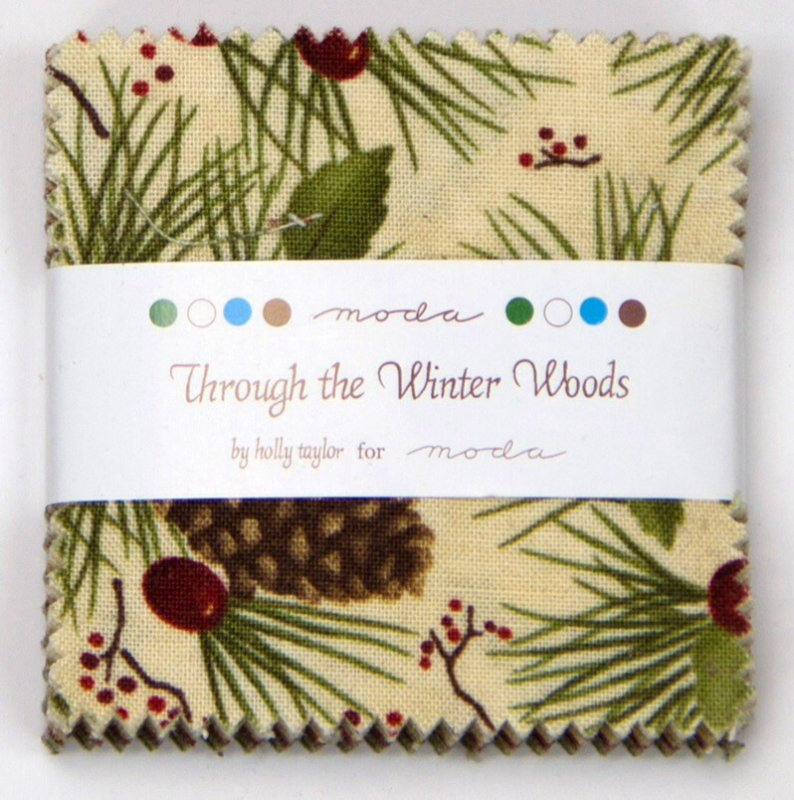 Through the Winter Woods - Mini Charm Pack