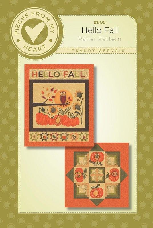 #605 Hello Fall ( Panel Pattern )