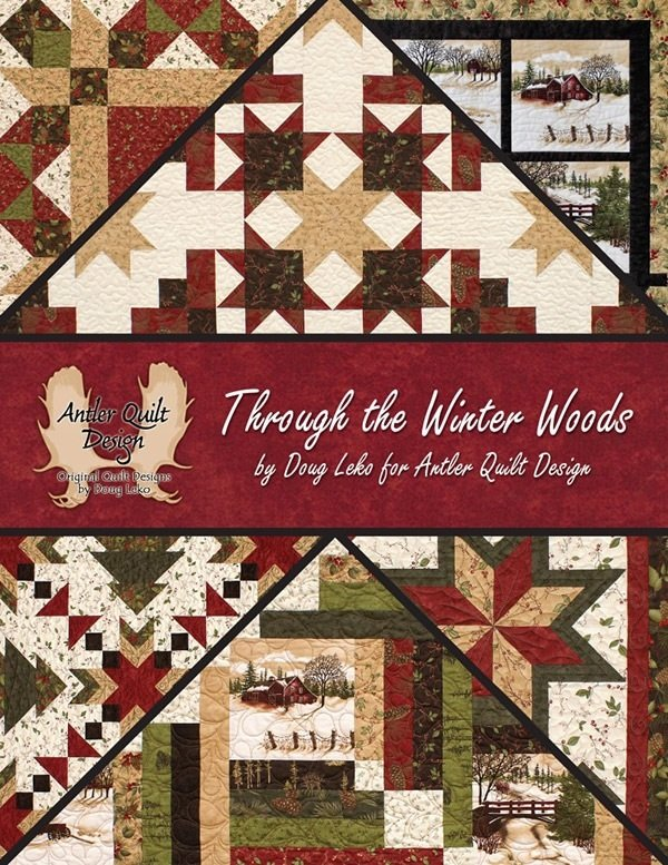 Through the Winter Woods by Antler Quilt Designs