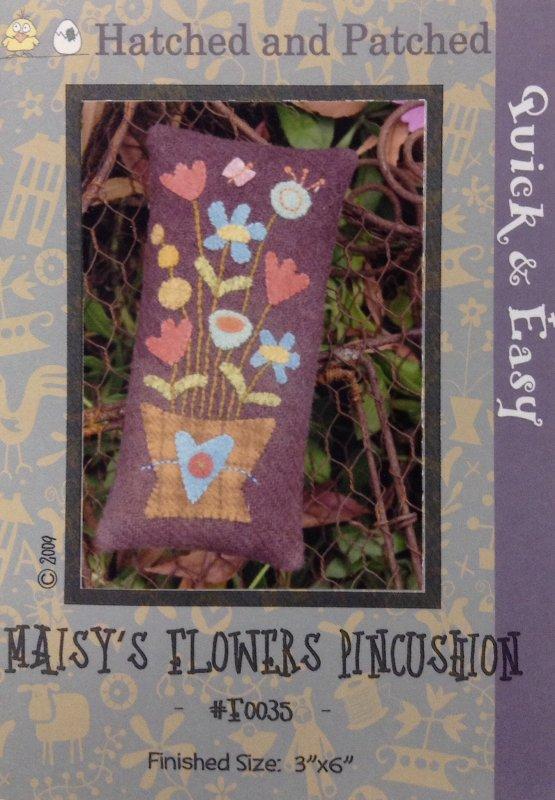 #F0035 Maisy's Flowers Pincushion
