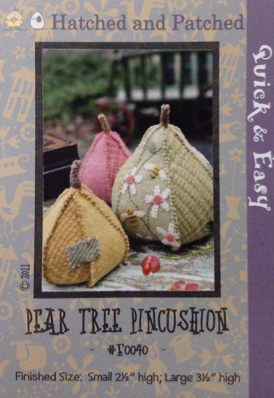 #F0040 Pear Tree Pincushion