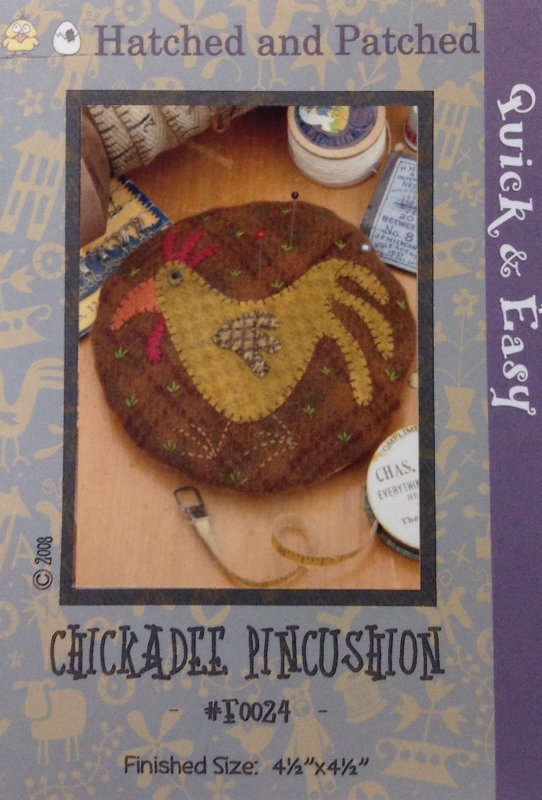#F0024 Chickadee Pincushion
