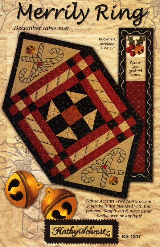 All Stitched Up - Merrily Ring - December - Kathy Schmitz