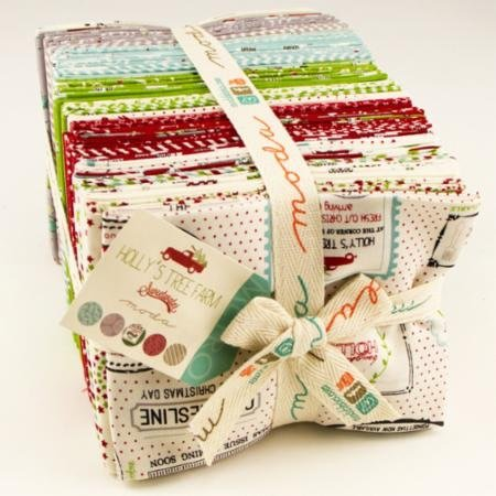 Hollys Tree Farm Fat Quarter Bundle  5580AB