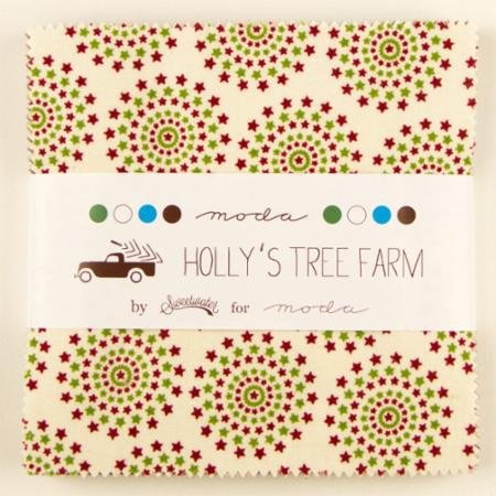 Hollys Tree Farm  Charm Pack 5580PP