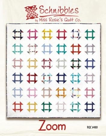 RQC 480 Zoom Schnibbles by Miss Rosie's Quilt Co