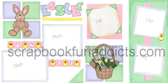 #124 Pastel Easter