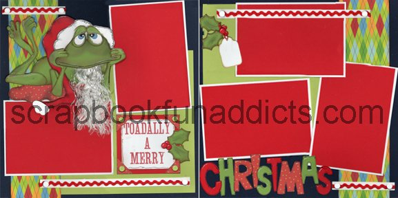 #248 Toadally Merry Christmas