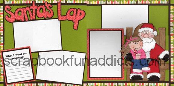 #266 Santa's Lap Girl