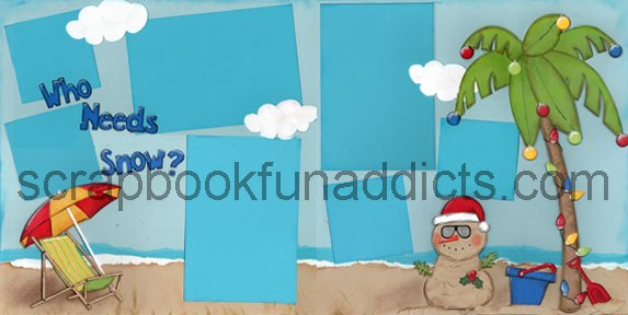 #283 Tropical Christmas
