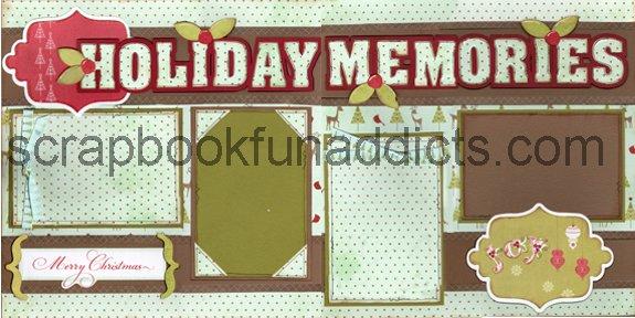 #284 Holiday Memories