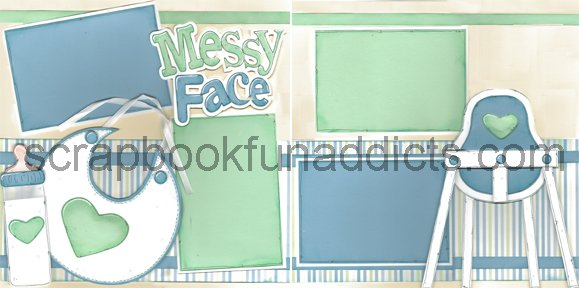 #303 Messy Face Boy