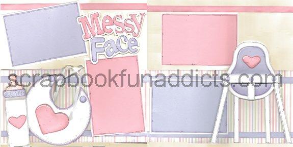 #303 Messy Face Girl