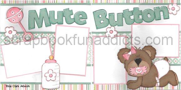 #338 Mute Button Girl