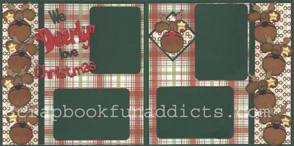 #348 Deerly Love Christmas