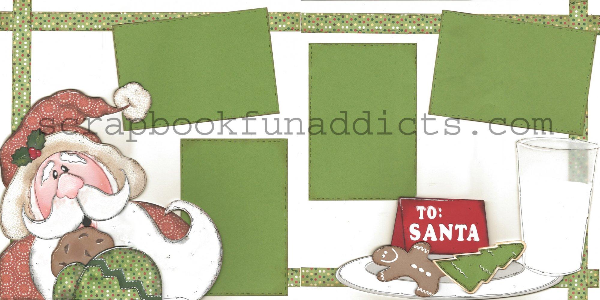 #362 Santa's Cookies