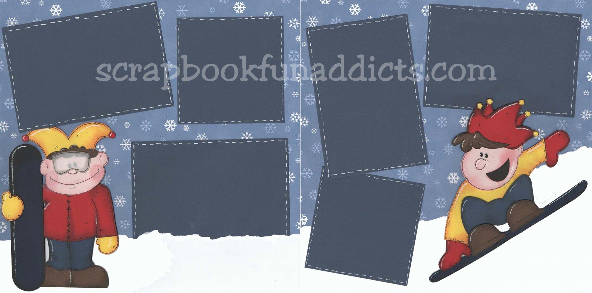 #434 Snow Boarders