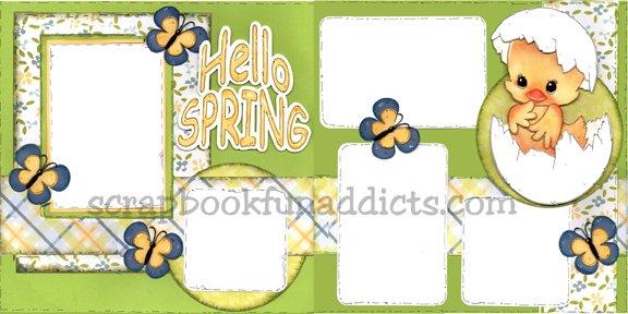 #464 Hello Spring (NEW)