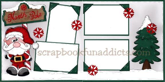 #470 North Pole Santa (NEW)