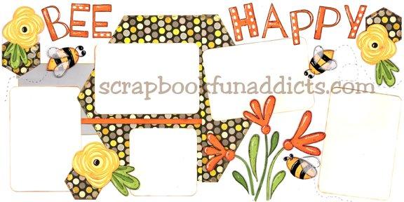 #476 Bee Happy (NEW)