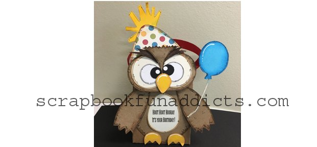 Birthday Owl Box