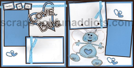 #161 Caught by the Love Bug Blue