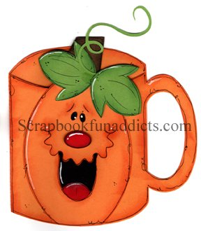 Pumpkin Mug 5 Pack