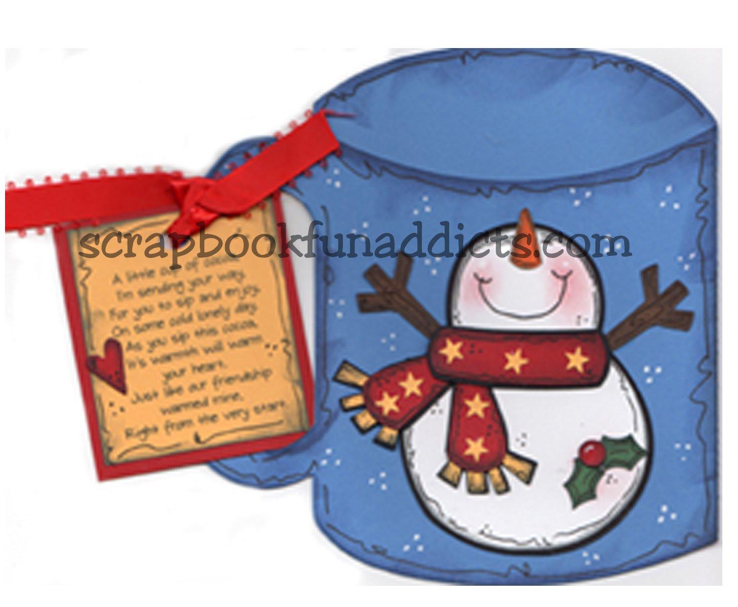 Snowman Mug 10 Pack