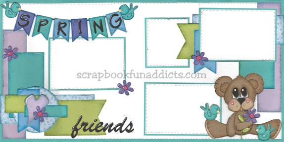 #426 Spring Friends
