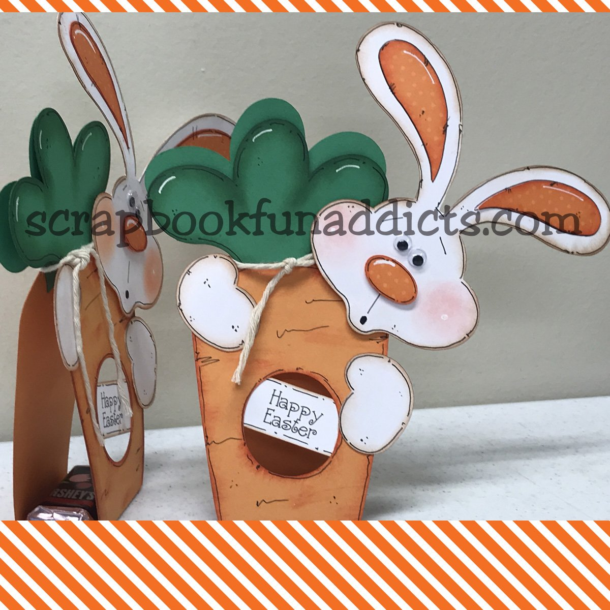 Easter Bunny Treat Holder