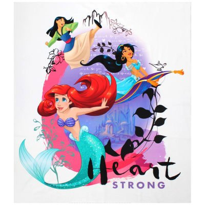 Disney Princess Heart Strong 36Panel Multi Fabric