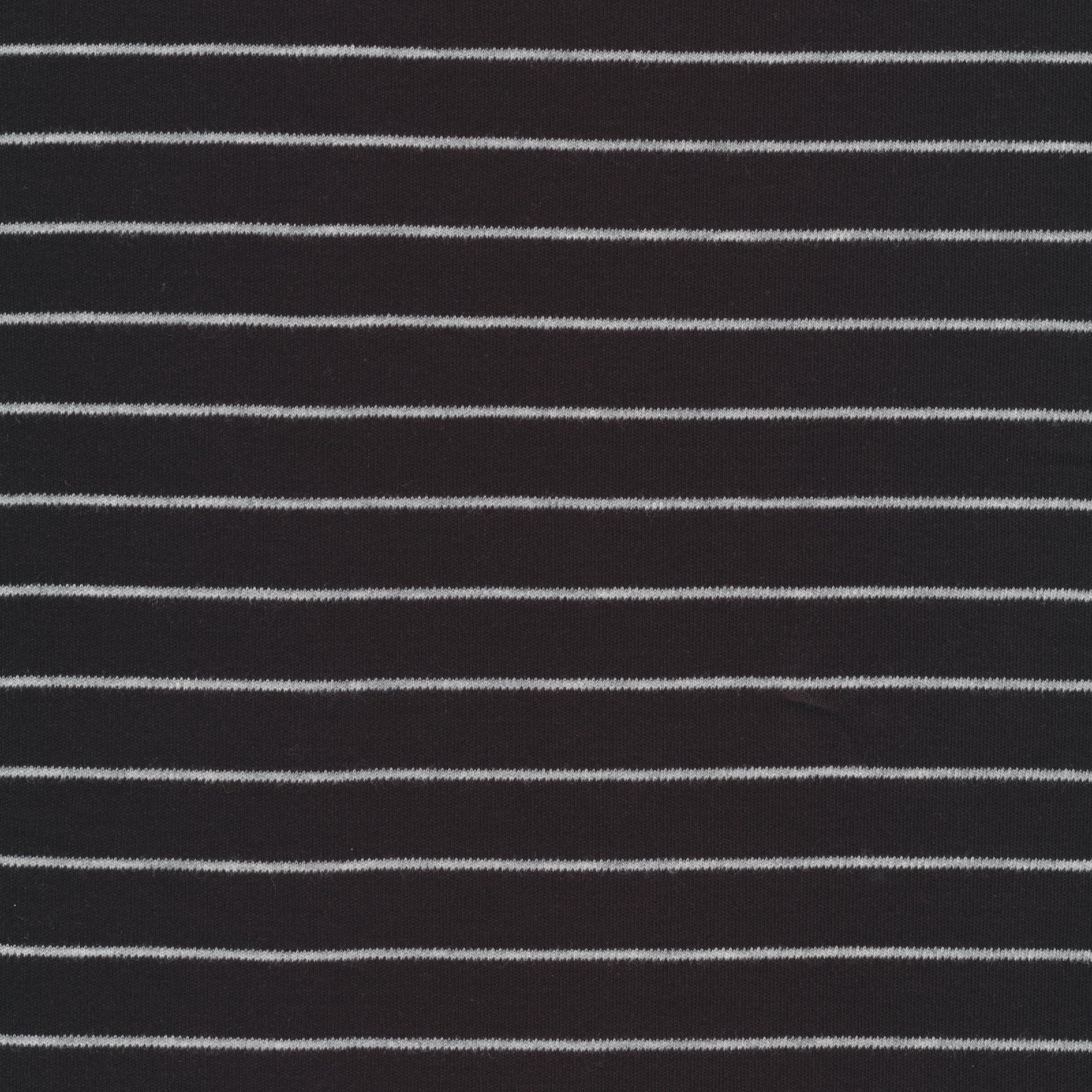 Cloud 9 Organic Knit - Black & Grey Stripes