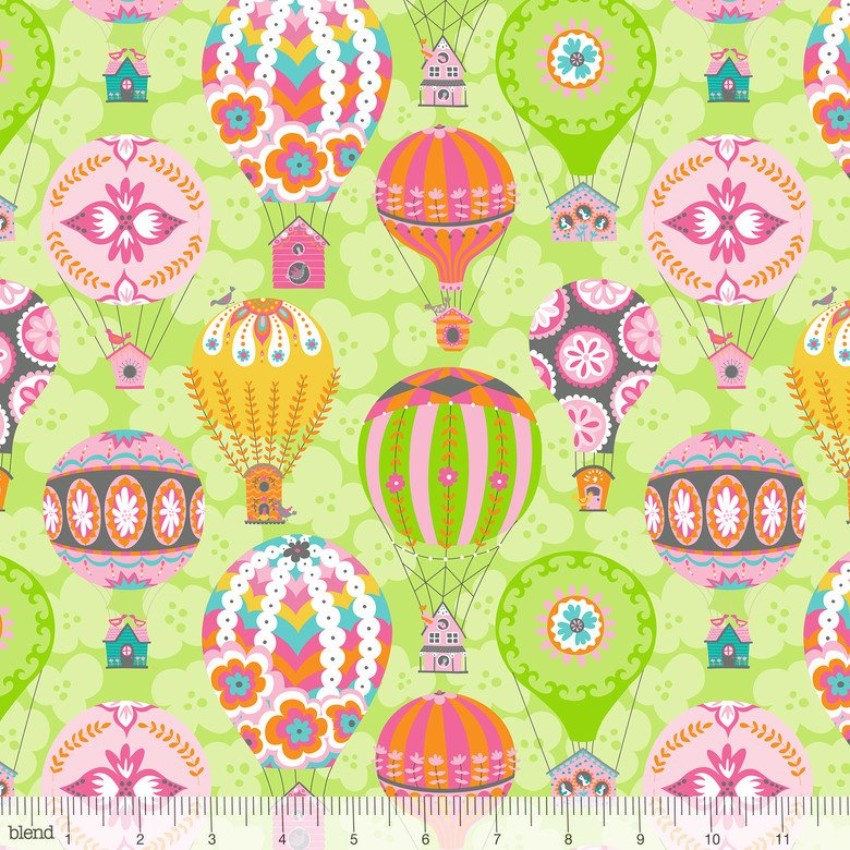 Float Green by Ana Davis for Blend Fabrics