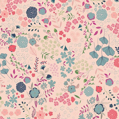 Blooming Ground Shimmer in Knit - 60 - Art Gallery Fabrics (AGF)