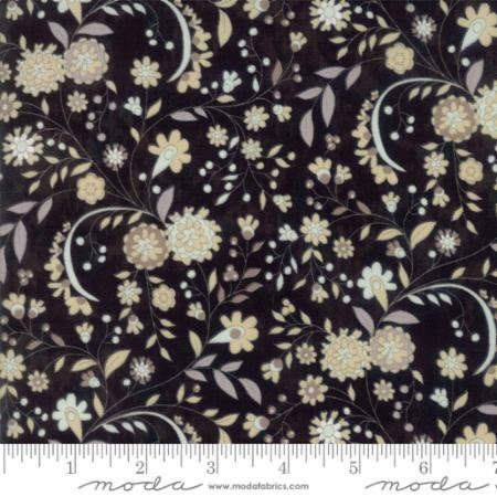 Maven Delicate Floral Onyx by BasicGrey for Moda