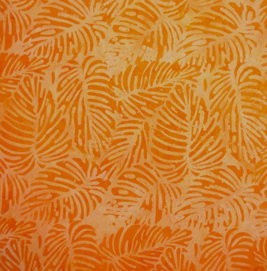 Batik by Mirah - Moon Light Melody Orange Squiz