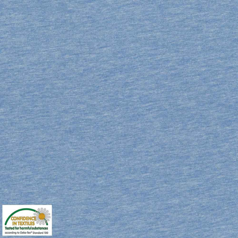 Avalana Jersey 60 by Stof Solid Heathered Baby Blue