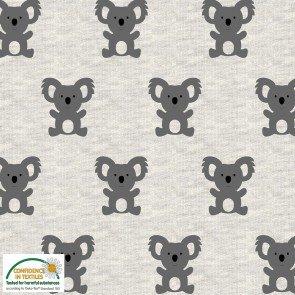 Avalana Sweat Knit  60 by Stof - Koala (no stretch)