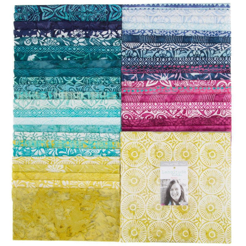 Longitude Batiks Layer Cake By Kate Spain - 30% Off!