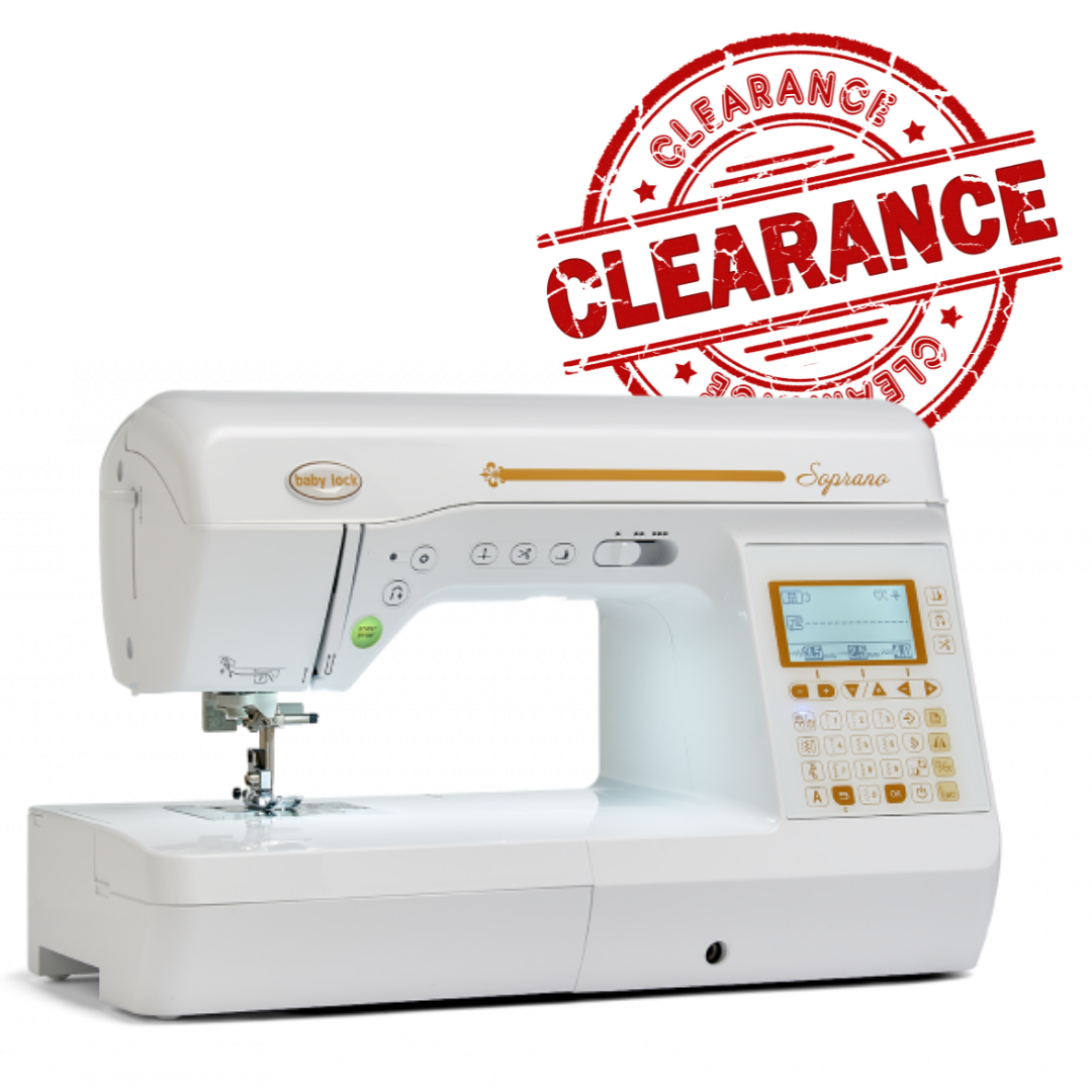 Babylock Soprano Sewing and Quilting Machine - CLEARANCE