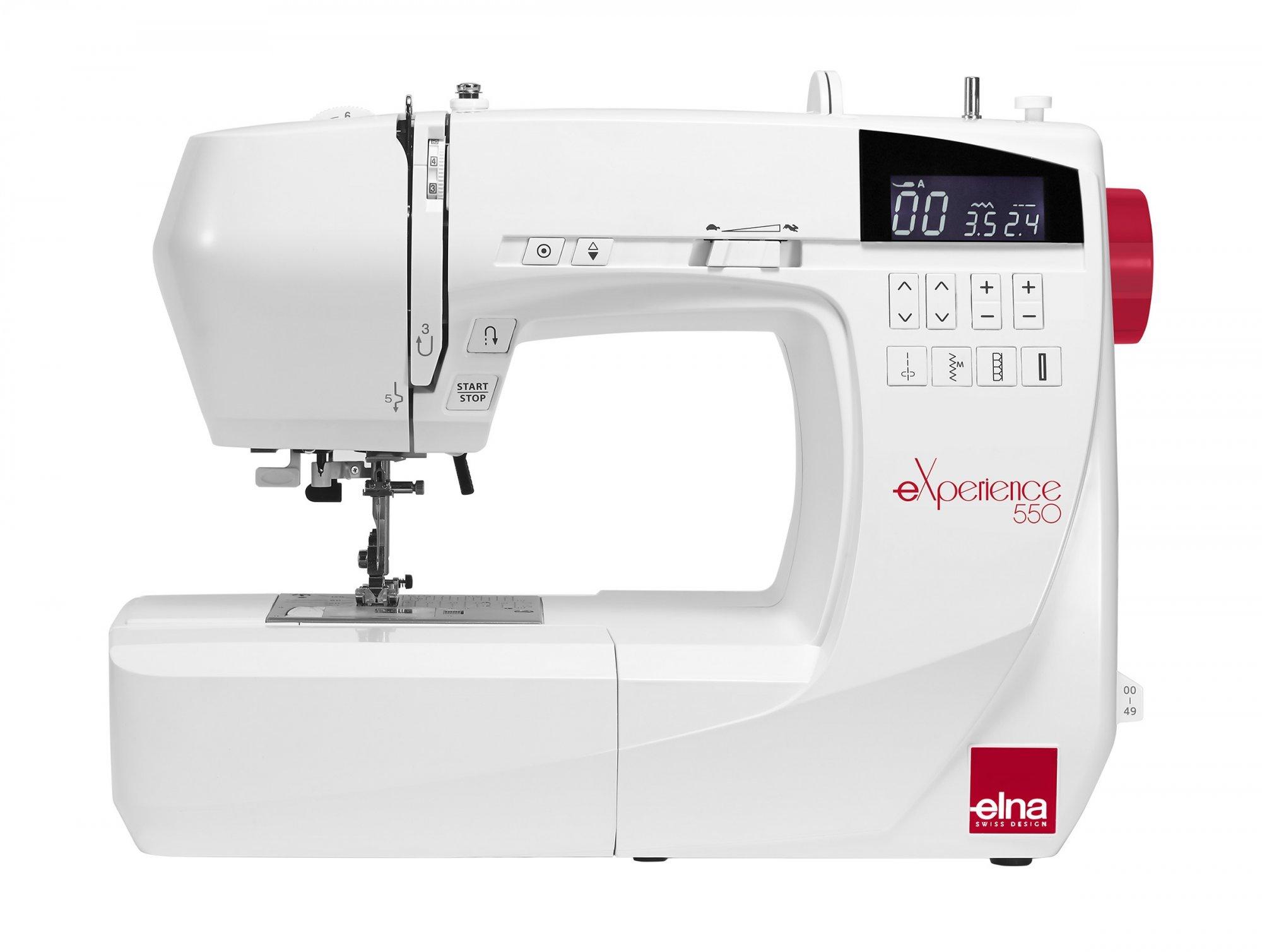 Elna eXperience 550-C Sewing Machine with Bonus Quilt Kit