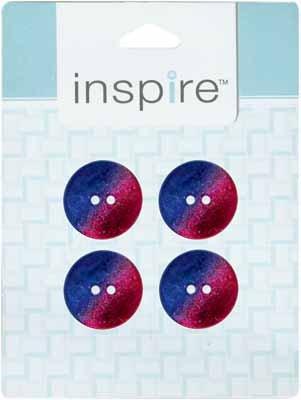 INSPIRE 2 Hole Button - Akoya - 23mm - 4pcs