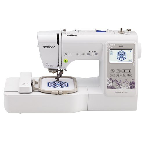 Brother SE600 Sewing, Quilting and Embroidery Machine