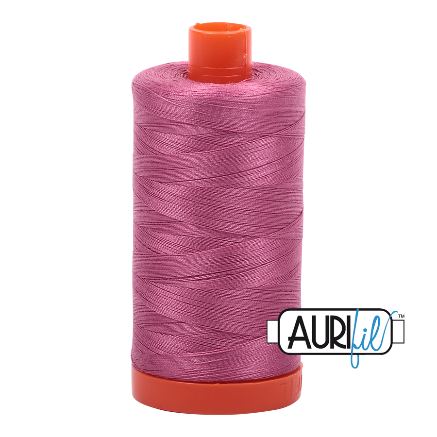 AURIfil Mako 50 wt Dusty Rose 2452 1300m